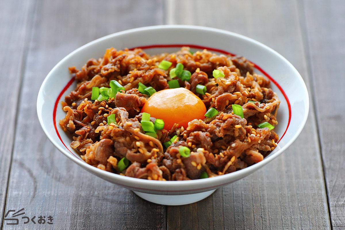 韓国風焼き肉の丼