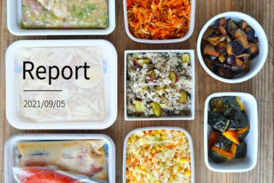 かんたん調理で9品 週末まとめて作り置きレポート(2021/09/05)の写真